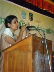 New Project Head, Dharmistha Chauha, addresses AGM